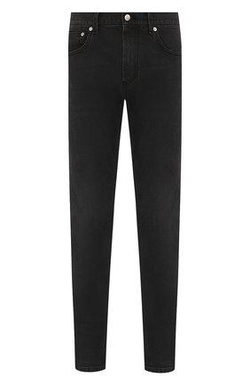 Мужские джинсы ALEXANDER MCQUEEN темно-серого цвета, арт. 589767/Q0Y77   Фото 1