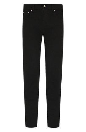 Мужские джинсы ALEXANDER MCQUEEN черного цвета, арт. 589763/Q0Y01 | Фото 1