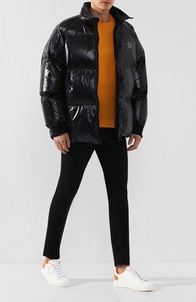 Мужские джинсы ALEXANDER MCQUEEN черного цвета, арт. 589763/Q0Y01 | Фото 2