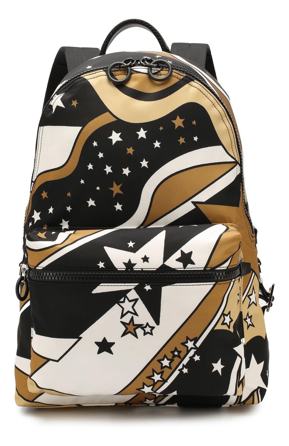 Мужской текстильный рюкзак vulcano DOLCE & GABBANA разноцветного цвета, арт. BM1607/AJ610   Фото 1
