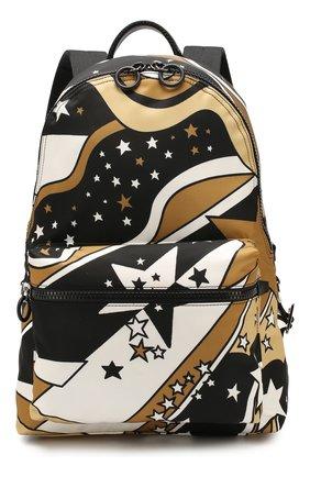 Мужской текстильный рюкзак vulcano DOLCE & GABBANA разноцветного цвета, арт. BM1607/AJ610 | Фото 1