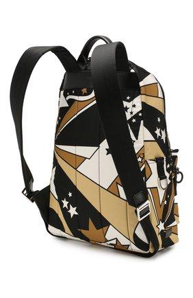 Мужской текстильный рюкзак vulcano DOLCE & GABBANA разноцветного цвета, арт. BM1607/AJ610   Фото 3