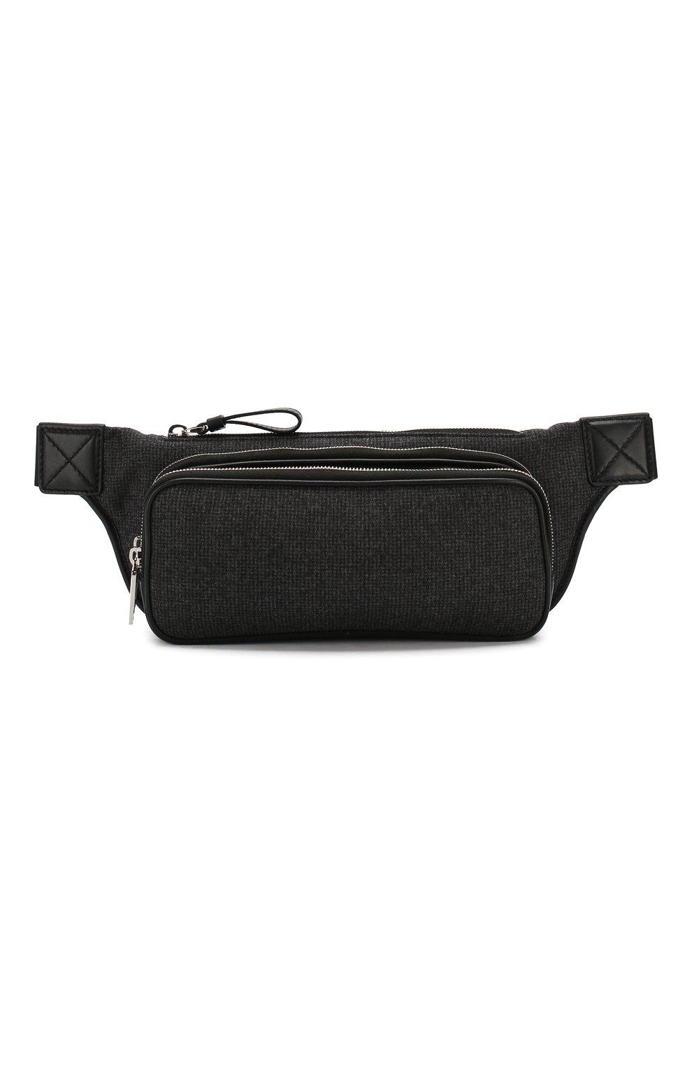 Текстильная поясная сумка | Фото №1