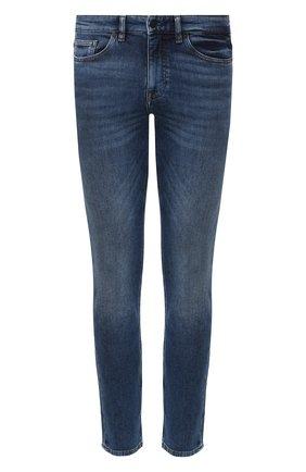 Мужские джинсы BOSS голубого цвета, арт. 50421436   Фото 1