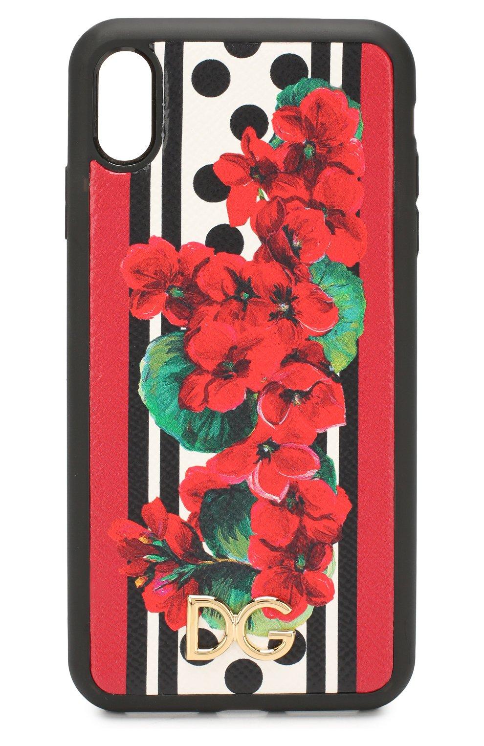 Мужской чехол для iphone xs max DOLCE & GABBANA разноцветного цвета, арт. BI2515/AZ482   Фото 1