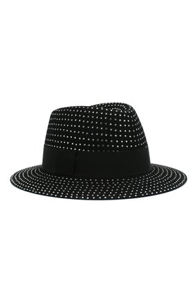 Женская фетровая шляпа SAINT LAURENT серебряного цвета, арт. 580333/4YA58 | Фото 1