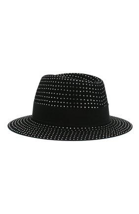 Женская фетровая шляпа SAINT LAURENT серебряного цвета, арт. 580333/4YA58 | Фото 2