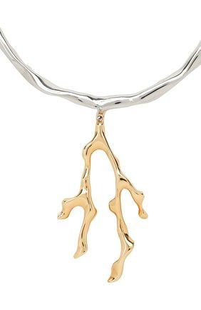 Женское колье bonnie CHLOÉ золотого цвета, арт. CHC19WF093CB7 | Фото 2