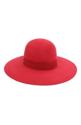 Женская фетровая шляпа DOLCE & GABBANA красного цвета, арт. FH483A/GDQ72 | Фото 1
