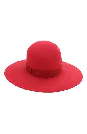 Женская фетровая шляпа DOLCE & GABBANA красного цвета, арт. FH483A/GDQ72 | Фото 2