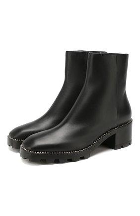 Женские кожаные ботинки mava 35 JIMMY CHOO черного цвета, арт. MAVA 35/0YC | Фото 1