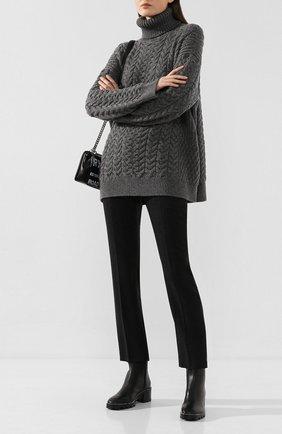 Женские кожаные ботинки mava 35 JIMMY CHOO черного цвета, арт. MAVA 35/0YC | Фото 2