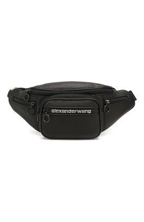 Женская поясная сумка attica ALEXANDER WANG черного цвета, арт. 2019P0780L | Фото 1