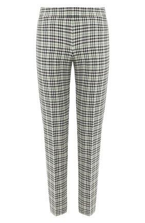 Женские брюки BOSS зеленого цвета, арт. 50422708 | Фото 1