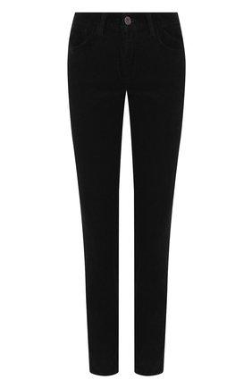 Женские хлопковые брюки MOUSSY черного цвета, арт. 025CAC11-2410 | Фото 1