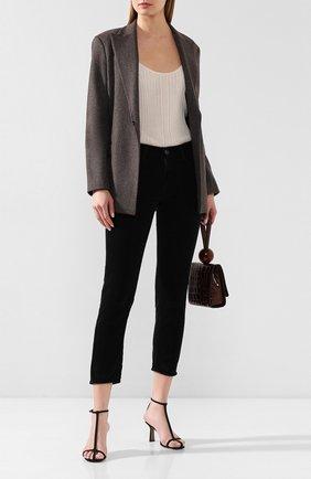 Женские хлопковые брюки MOUSSY черного цвета, арт. 025CAC11-2410 | Фото 2