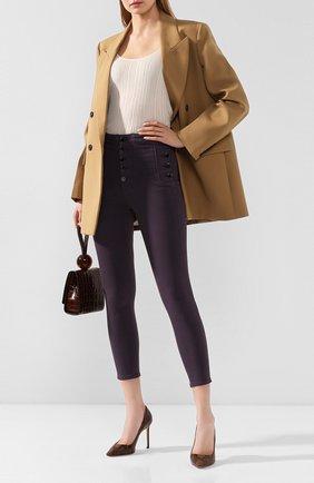 Женские джинсы J BRAND фиолетового цвета, арт. JB002574 | Фото 2