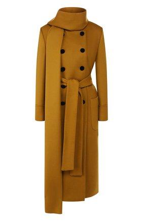 Женское шерстяное пальто DOLCE & GABBANA желтого цвета, арт. F0Y59T/FU3I5 | Фото 1