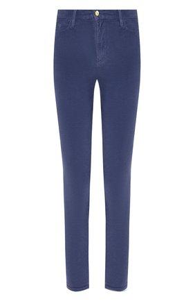 Женские вельветовые брюки FRAME DENIM синего цвета, арт. AHRSCCD523 | Фото 1