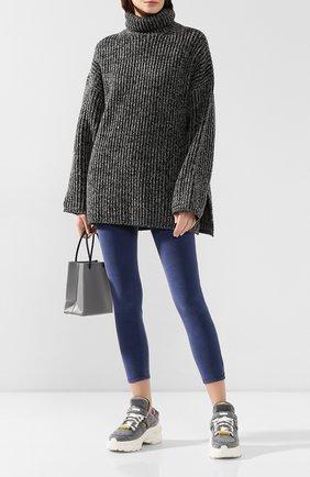 Женские вельветовые брюки FRAME DENIM синего цвета, арт. AHRSCCD523 | Фото 2