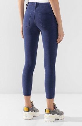 Женские вельветовые брюки FRAME DENIM синего цвета, арт. AHRSCCD523 | Фото 4