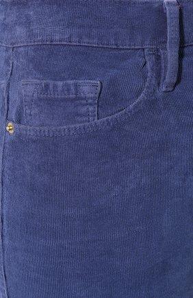 Женские вельветовые брюки FRAME DENIM синего цвета, арт. AHRSCCD523 | Фото 5