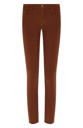 Женские вельветовые брюки FRAME DENIM коричневого цвета, арт. LHSKCD523 | Фото 1