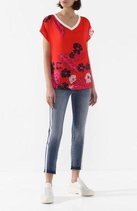 Женская футболка ESCADA SPORT красного цвета, арт. 5033097 | Фото 2