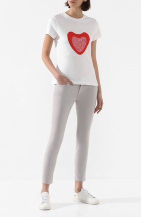 Женские джинсы ESCADA SPORT светло-серого цвета, арт. 5032539 | Фото 2