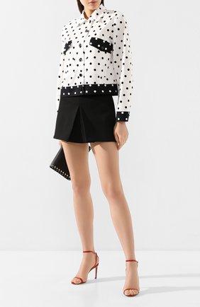 Женская джинсовая куртка ESCADA SPORT черно-белого цвета, арт. 5032158 | Фото 2