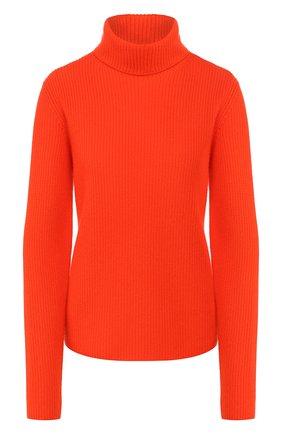 Женский кашемировый свитер RALPH LAUREN оранжевого цвета, арт. 290795706   Фото 1