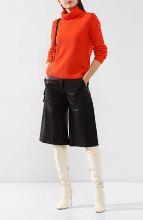 Женский кашемировый свитер RALPH LAUREN оранжевого цвета, арт. 290795706   Фото 2