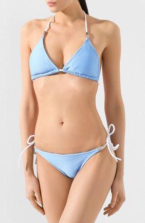 Женский плавки-бикини HEIDI KLEIN голубого цвета, арт. 20RSCR0912 | Фото 2