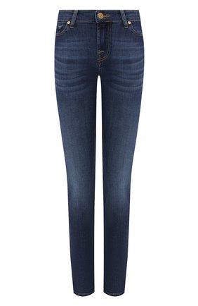 Женские джинсы 7 FOR ALL MANKIND синего цвета, арт. JSWT8870DD | Фото 1