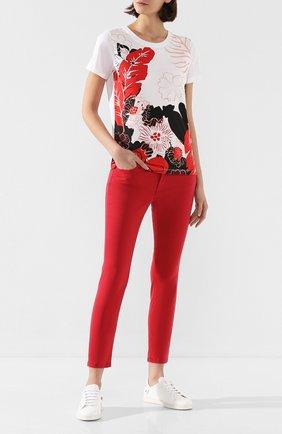 Женские джинсы ESCADA SPORT красного цвета, арт. 5032539 | Фото 2