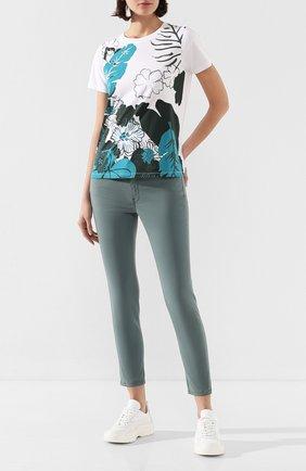 Женские джинсы ESCADA SPORT зеленого цвета, арт. 5032539 | Фото 2