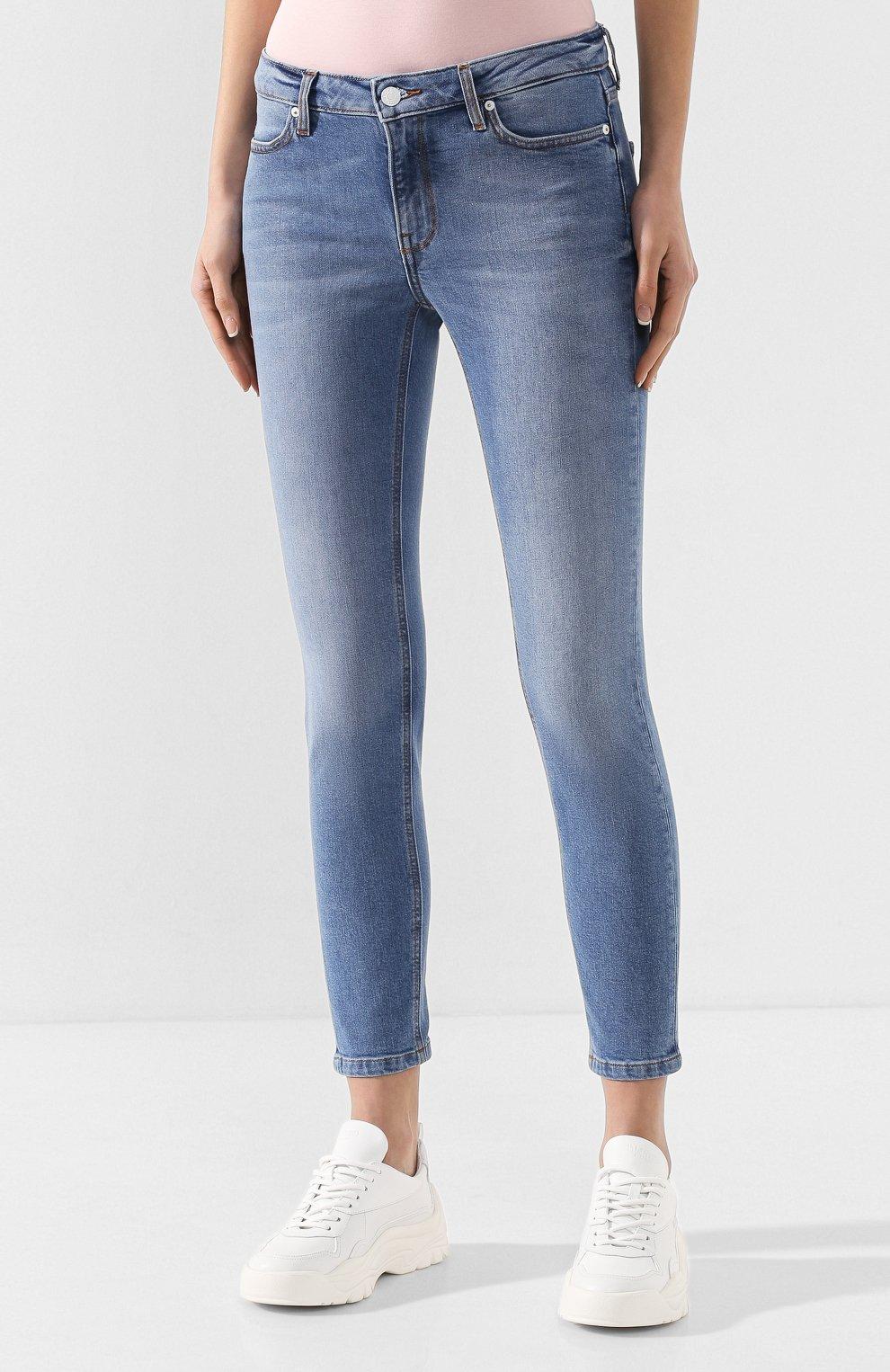 Женские джинсы ESCADA SPORT голубого цвета, арт. 5032044 | Фото 3