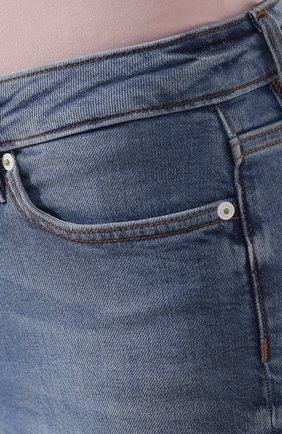 Женские джинсы ESCADA SPORT голубого цвета, арт. 5032044 | Фото 5