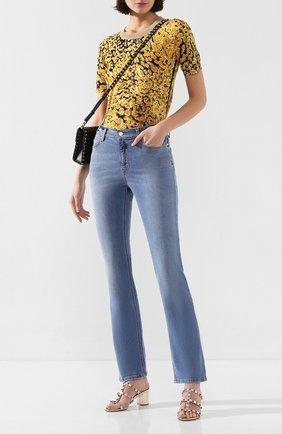 Женские джинсы ESCADA SPORT голубого цвета, арт. 5032043 | Фото 2