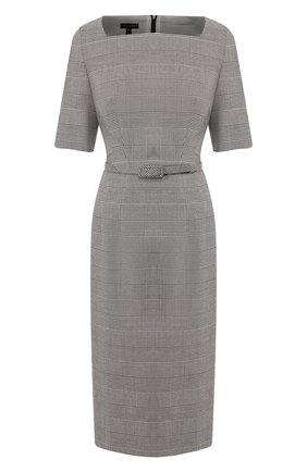 Женское шерстяное платье ESCADA серого цвета, арт. 5031935 | Фото 1