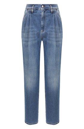 Женские джинсы REDVALENTINO синего цвета, арт. TR3DD01M/4TV | Фото 1