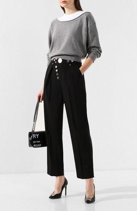 Женская шерстяной пуловер ALEXANDERWANG.T серого цвета, арт. 4KC1201012 | Фото 2