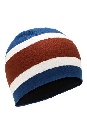Мужская шерстяная шапка LORO PIANA синего цвета, арт. FAI9835 | Фото 1