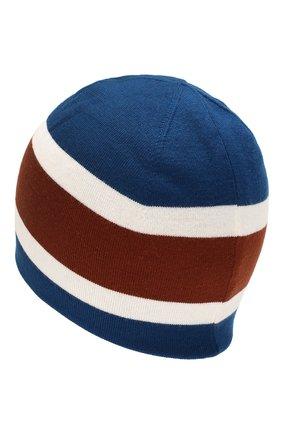 Мужская шерстяная шапка LORO PIANA синего цвета, арт. FAI9835 | Фото 2