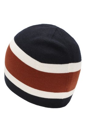 Мужская шерстяная шапка LORO PIANA темно-синего цвета, арт. FAI9835 | Фото 2