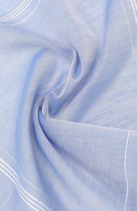 Мужской хлопковый платок SIMONNOT-GODARD голубого цвета, арт. SARABANDE | Фото 2