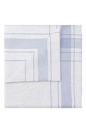 Мужской хлопковый платок SIMONNOT-GODARD голубого цвета, арт. HARLAN | Фото 1