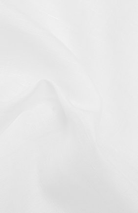 Мужской платок из смеси хлопка и льна SIMONNOT-GODARD белого цвета, арт. AMALFI/50LINEN | Фото 2