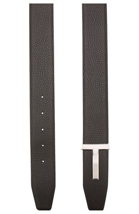 Мужской кожаный ремень TOM FORD коричневого цвета, арт. TB246P-LCL050 | Фото 2