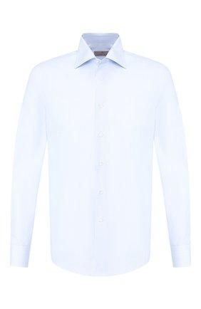 Мужская хлопковая сорочка CANALI голубого цвета, арт. X05/GA01859/S | Фото 1